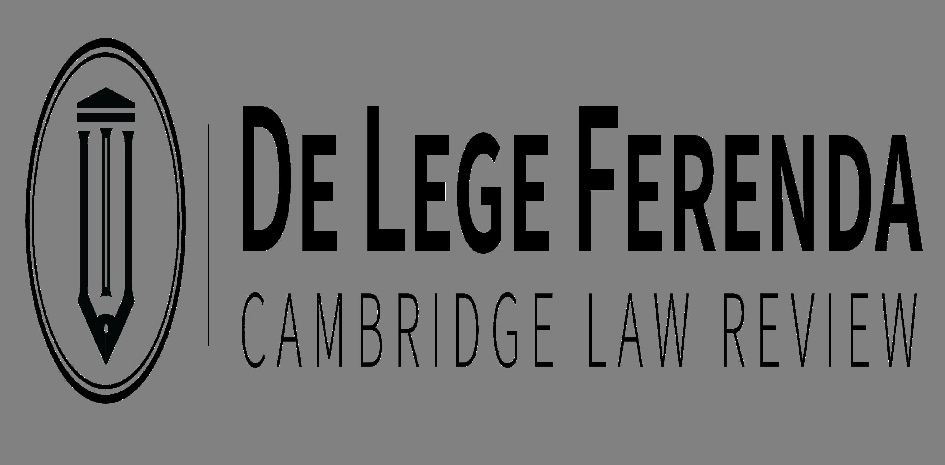 De Lege Ferenda logo